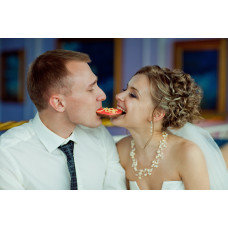 Свадебные сладкие комплименты от молодоженов