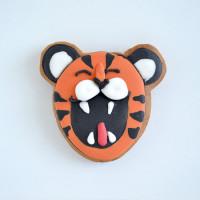 "Имбирное печенье  ""Улыбка тигра"""