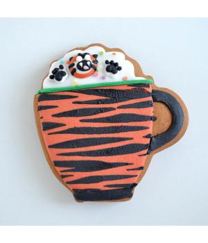 """Имбирное печенье  """"Кружка тигровая"""""""