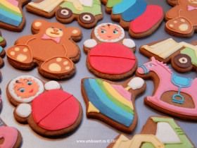 Пряники для детского праздника Bosco di Ciliegi