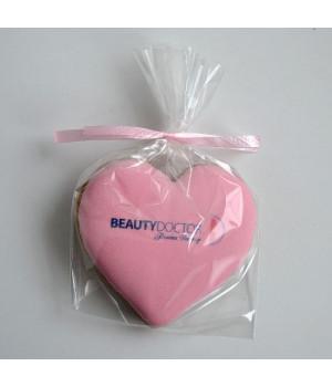 Печенье сердце 7,5 см (печать по глазури)