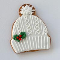 """Новый год, Рождество, Новогодний набор, Печенье """"Шапка"""""""