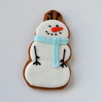 Печенье «Снеговик2»