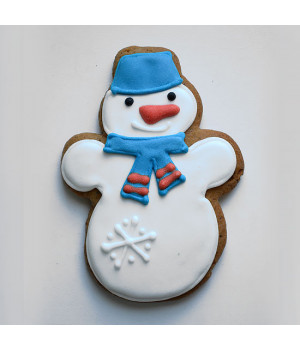 Печенье «Снеговик»